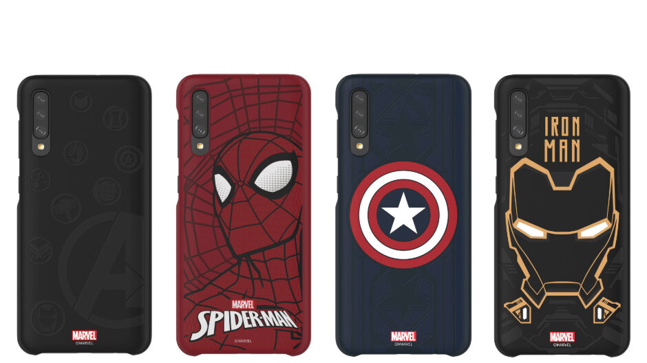 Samsung selling Marvel-themed covers for Galaxy S10 and select Galaxy A phones