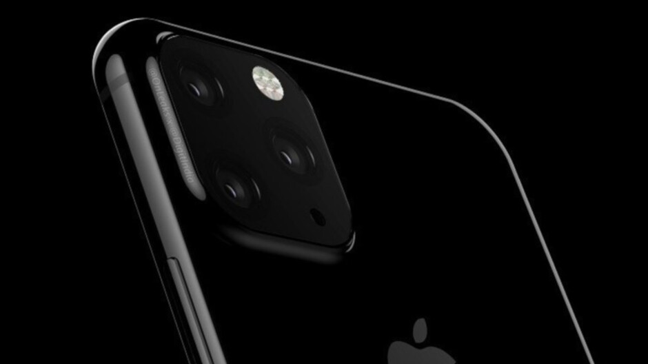 Prototype cases for the 2019 Apple iPhone lineup might