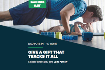 Fitbit debuts Father's Day sale with deals on smartwatches, trackers and accessories