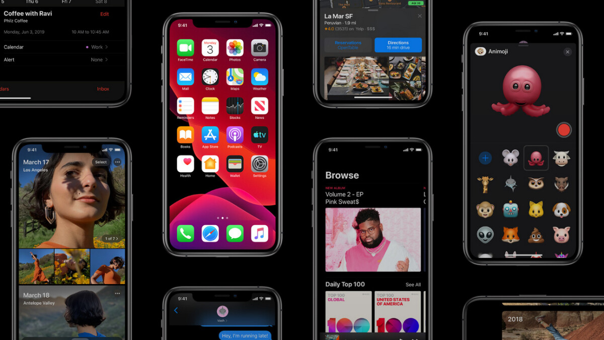 All iOS 13 supported iPhone and iPad models