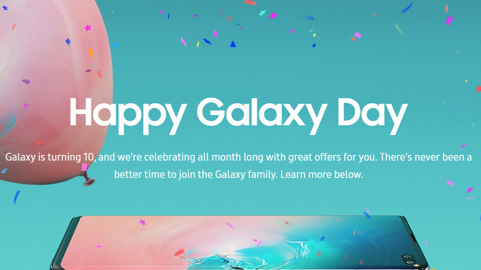 Samsung celebrates Galaxy Day with sweet deals for potential buyers and Galaxy owners