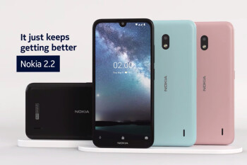 Nokia 2.2 brings the waterdrop notch down to the $100 price segment