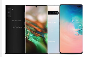 The Galaxy Note 10 might have its selfie camera in the center... do you think that'd look good?