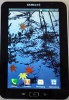 Android-базирания таблет Samsung Galaxy Tab прилича на гигантски Galaxy S