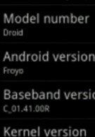 Video of Android 2.2 in action on Motorola DROID
