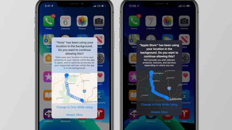 New feature in iOS 13 gives users more control over apps that track their location