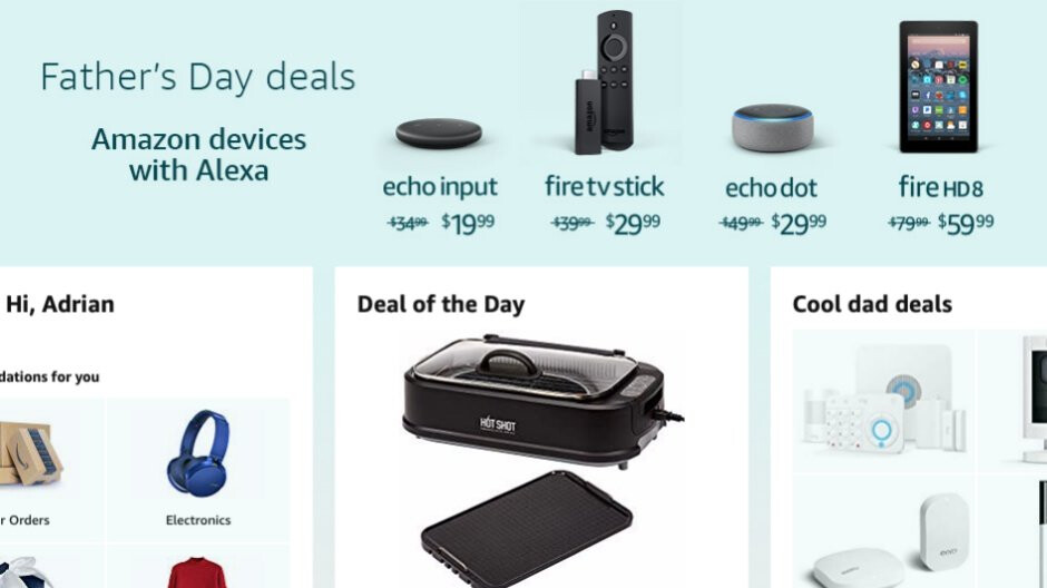 Amazon is spoiling dads with awesome deals on Fire tablets, Kindles, and Echo devices