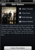 Music caching feature is now enabled for the iPhone's Slacker Radio app