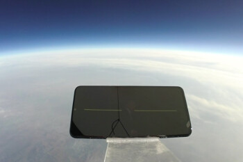 Phone survives fall from 103,000 feet