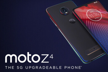Motorola has kept quiet about the Moto Z4's surprising support for a Microsoft accessory