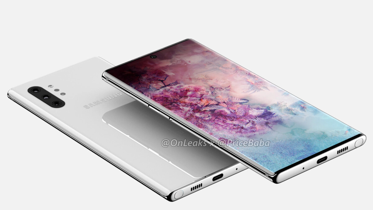 This Galaxy Note 10 leak points towards insanely thin bezels