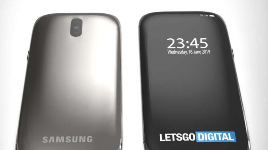 Samsung patent reveals a radical new look that could be used for the Galaxy S11