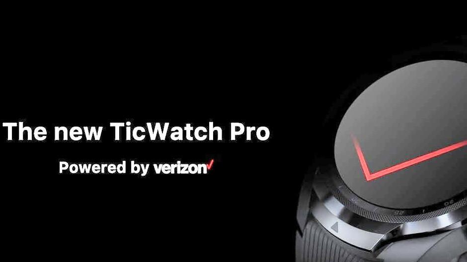 Verizon to start selling the TicWatch Pro smartwatch soon