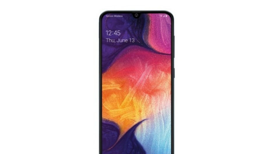 Samsung's mid-range Galaxy A50 is already discounted by $110 to $240 with Verizon installments