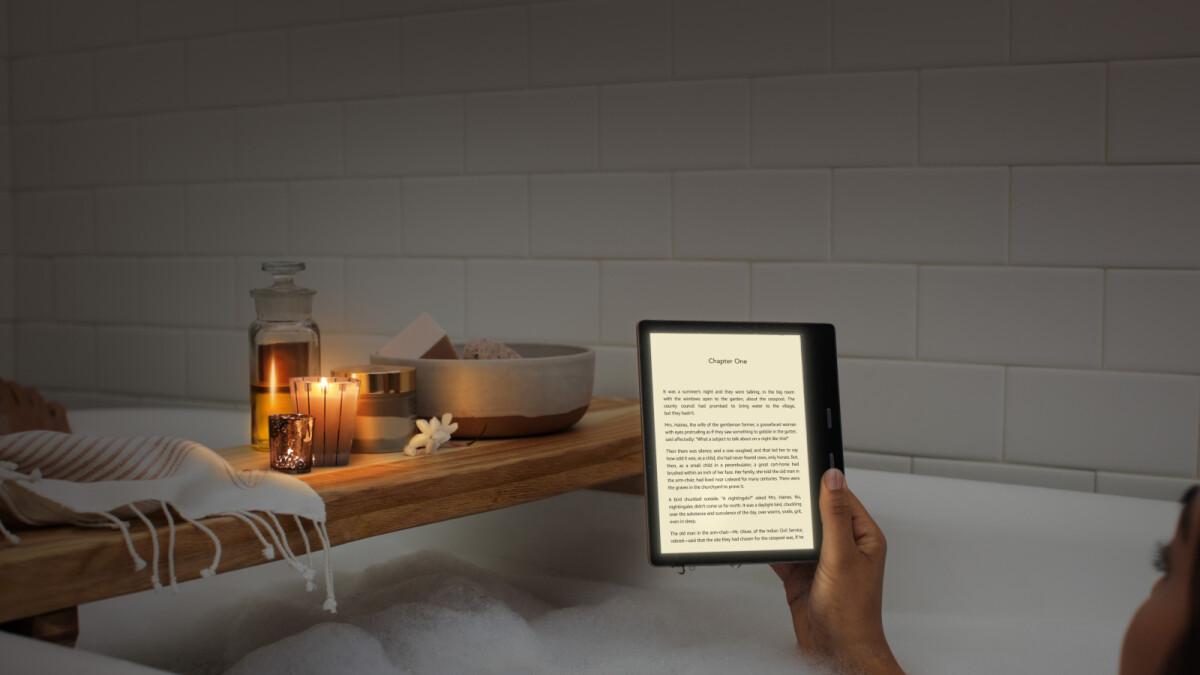 Amazon launching new Kindle Oasis eReader July 24