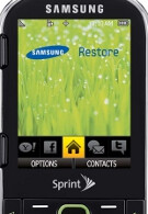 Sprint goes green as it plans to launch Samsung Restore on June 6th