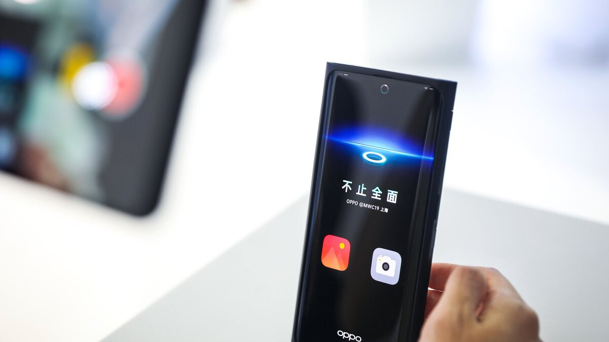 Oppo shows off the world's first phone with Under-Screen Camera technology