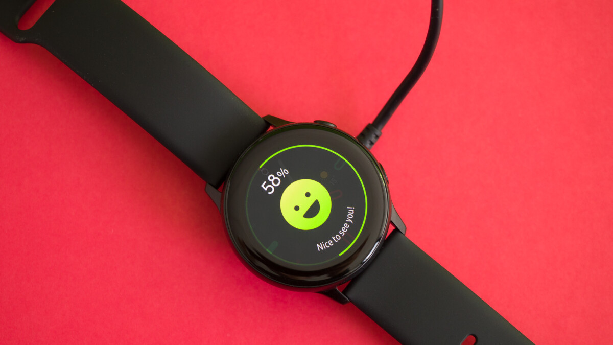 The Samsung Galaxy Watch Active 2 is already being worked on