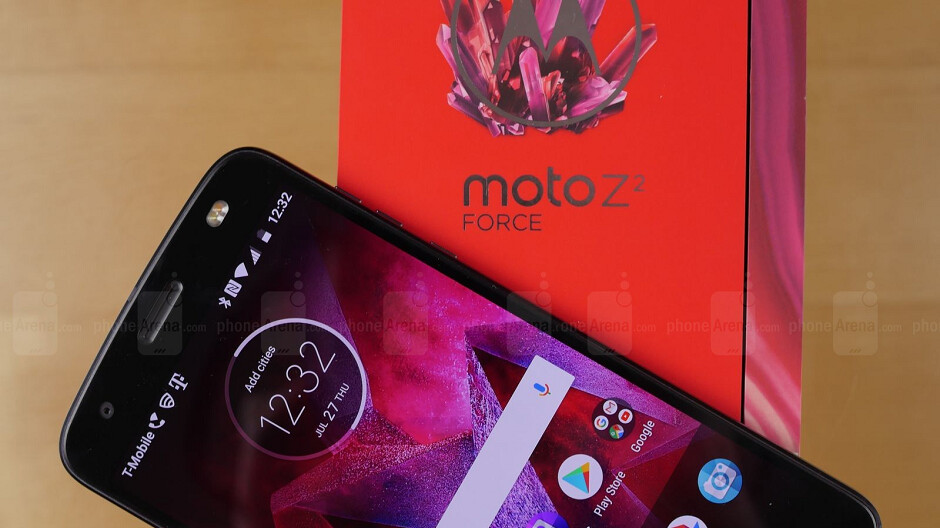 Moto Z2 Force owners on T-Mobile, AT&T and Sprint are told