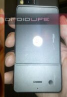 Image of the Motorola Droid Xtreme shows its back side