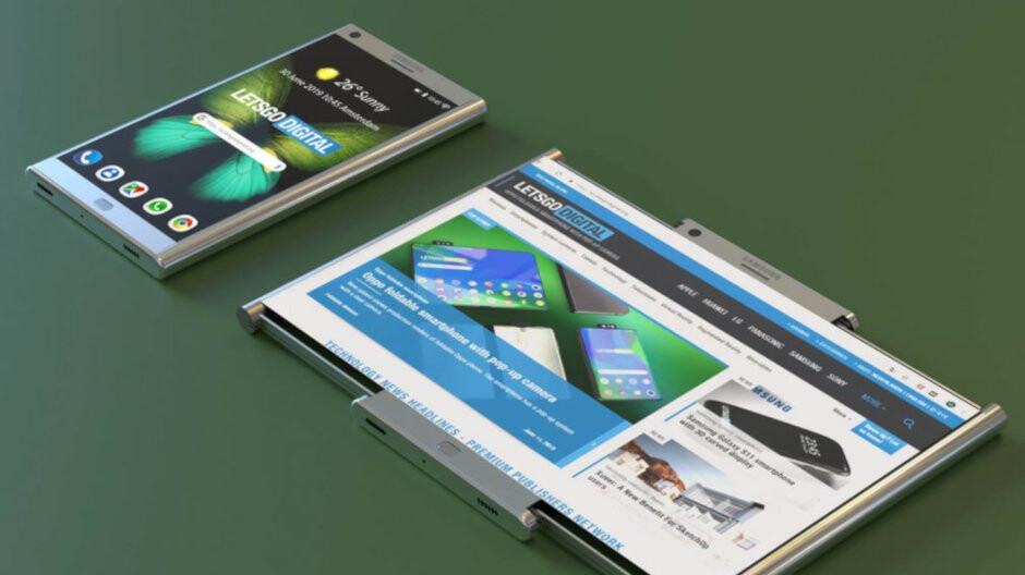 Samsung receives a patent for a phone that expands to become a tablet