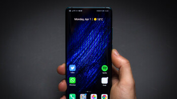 Huawei may be working on a phone with an under-display selfie camera