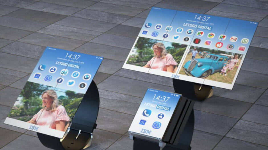 IBM patents a smartwatch that becomes a phone and a tablet
