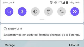 Android Q kills its default gesture navigation if you install a launcher like Nova