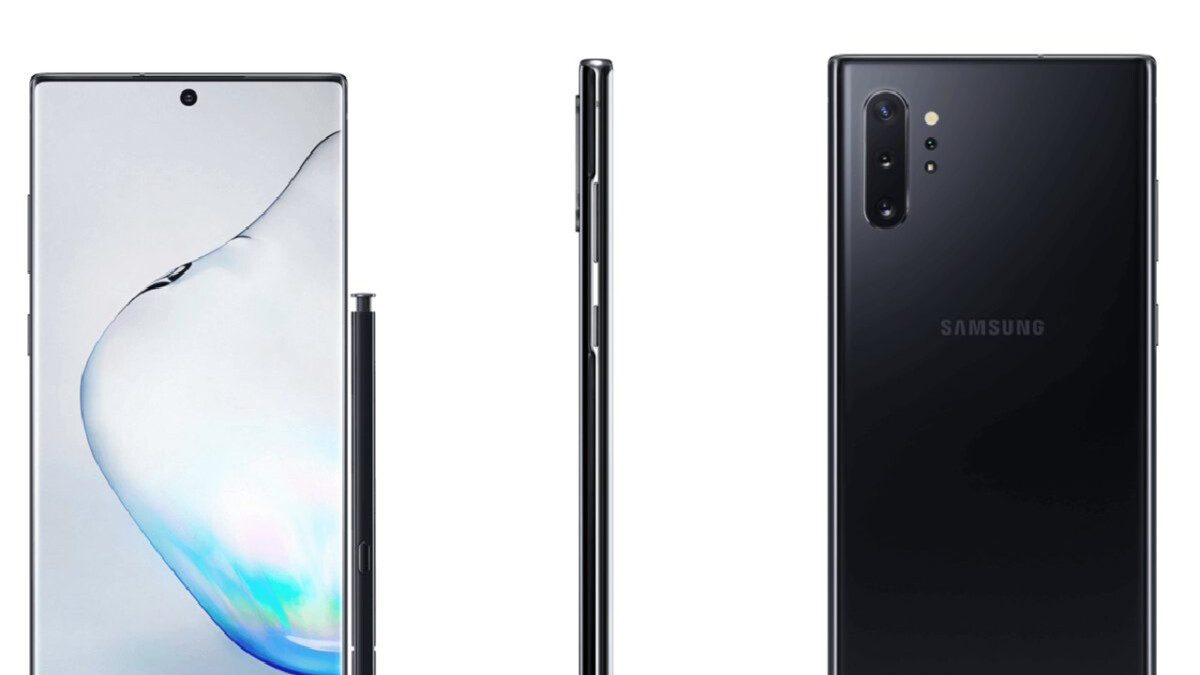 Live Galaxy Note 10+ photos show no headphone jack, corroborate dimensions