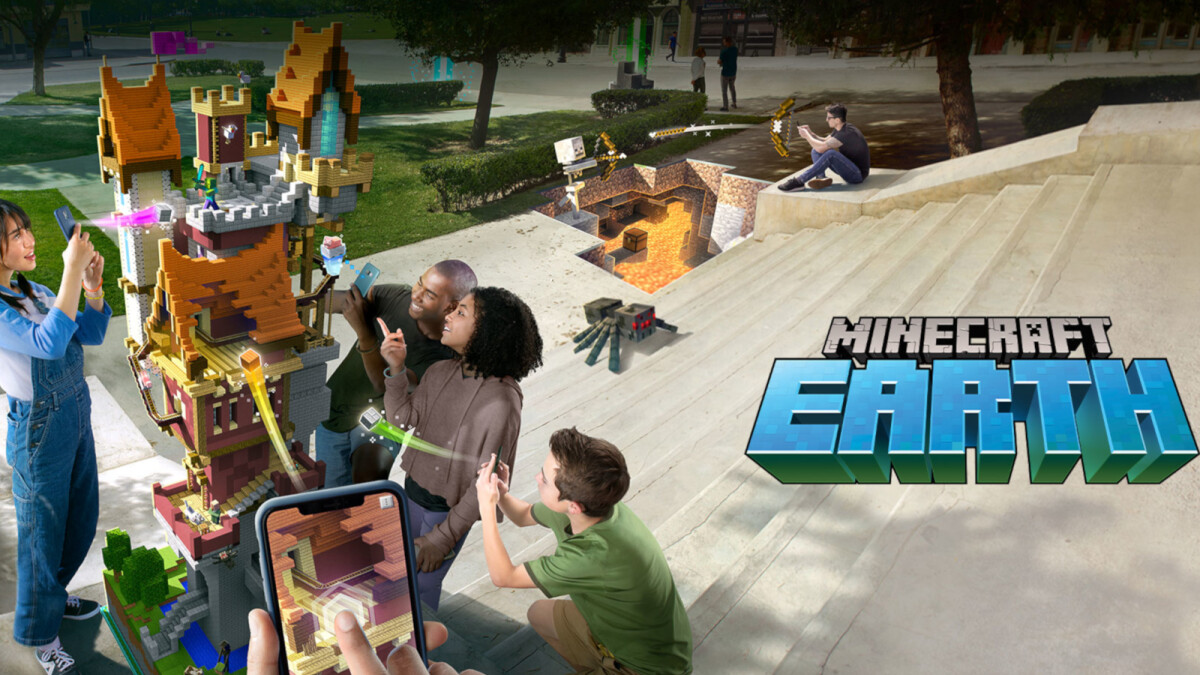 Microsoft announces Minecraft Earth closed beta, iOS gets it first