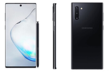 Check out the latest press render of the Samsung Galaxy Note 10+