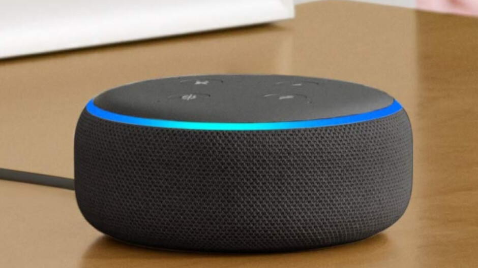 Amazon's Echo Dot is priced at an all time low