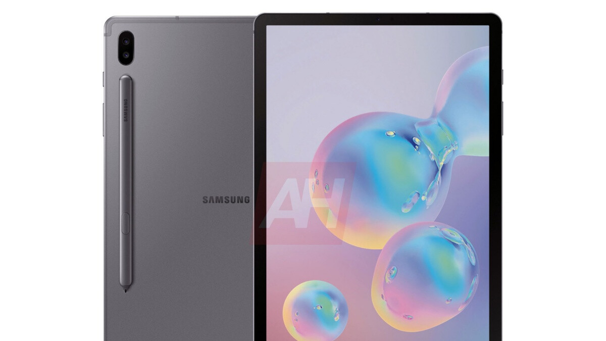 Massive new leak reveals the high-end Samsung Galaxy Tab S6 in all its glory