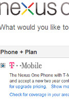 T-Mobile's Nexus One now available again from Google's web site