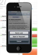 iWork productivity tools coming to the iPhone 4