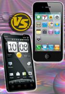 Apple iPhone 4 vs. HTC EVO 4G: the Specs