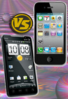 Apple iPhone 4 vs. HTC EVO 4G: the Specs