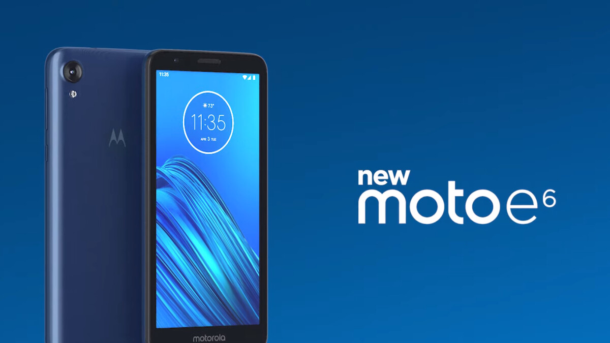 moto e6 launched,price,features
