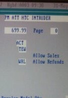 HTC Intruder for AT&T shows up in RadioShack's inventory system