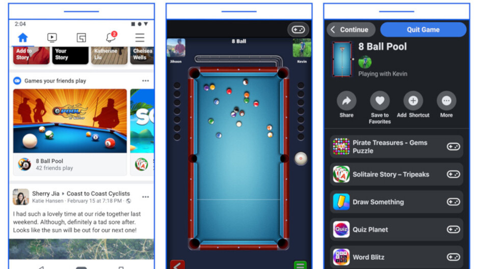 It's game over for Facebook's Instant Games platform on Messenger