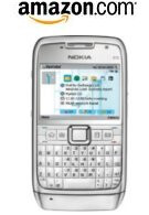 Amazon is selling an unlocked white version of the Nokia E71 for $230