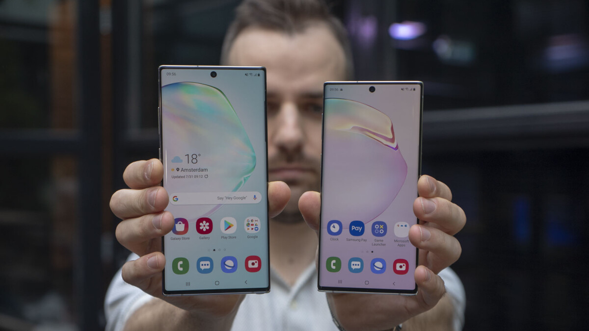 Samsung Galaxy Note 10/10+ are Android refined to perfection, but no great risks taken (hands-on)