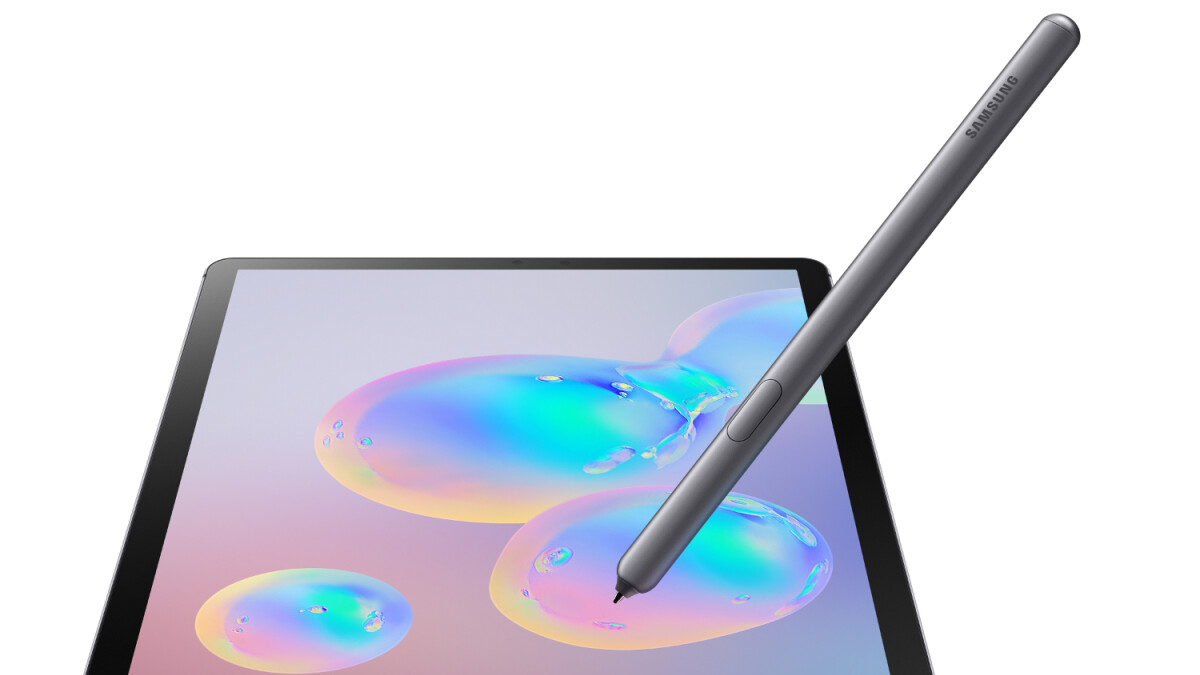 Samsung announces the Galaxy Tab S6: the pro tablet on the Android side