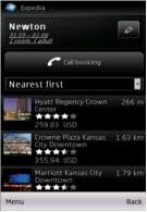 Ovi Maps now integrates Expedia hotel booking via location awareness