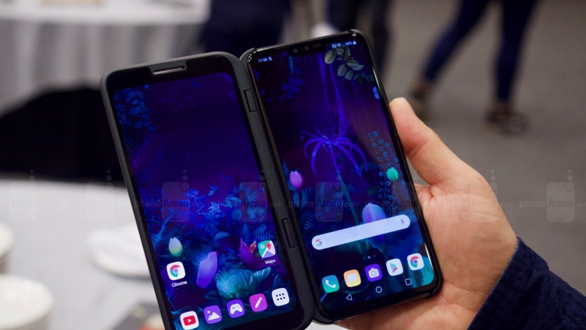 A 5G-enabled LG V60 ThinQ with an 'improved' second screen