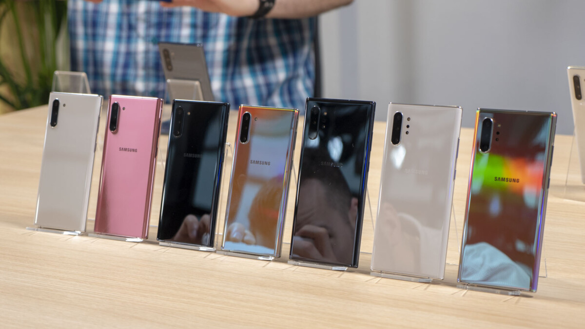 Which Note 10/10+ color version would you get?