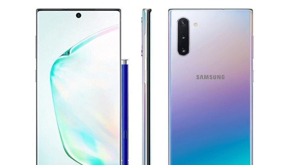 Infographic on Samsung Galaxy Note 10+ leaks minutes before unveiling