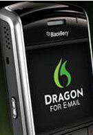 Version 1.6.2 of Dragon for Email fixes support for Sprint's BlackBerry Tour