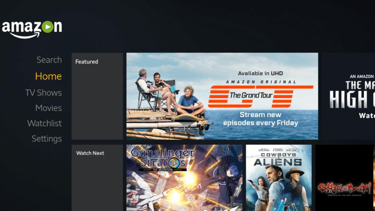 Amazon Prime Video für Android TV wird in Kürze nicht mehr überall verfügbar sein