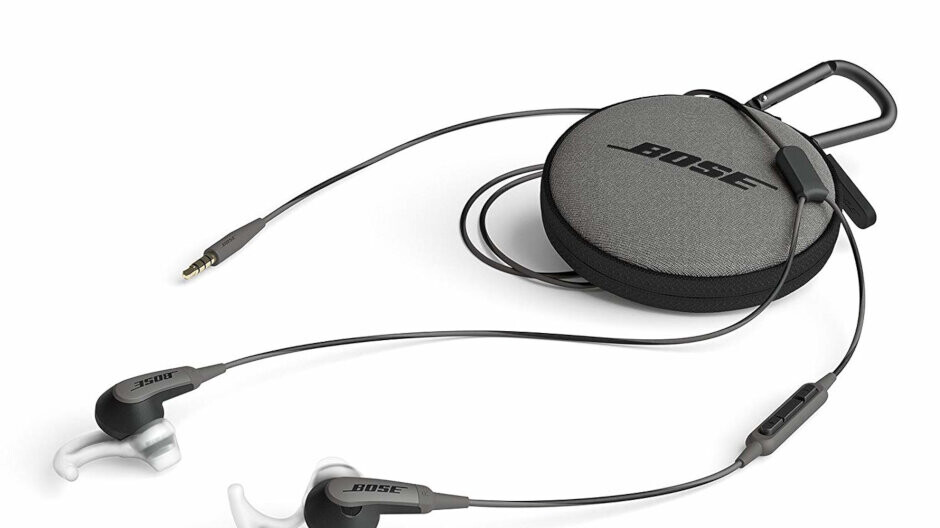 Bose SoundSport in-ear headphones for Apple devices are half off on Amazon